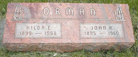 ORMAN, HILDA E. - Boone County, Iowa | HILDA E. ORMAN