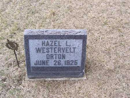 ORTON, HAZEL L.WESTERVELT - Boone County, Iowa | HAZEL L.WESTERVELT ORTON