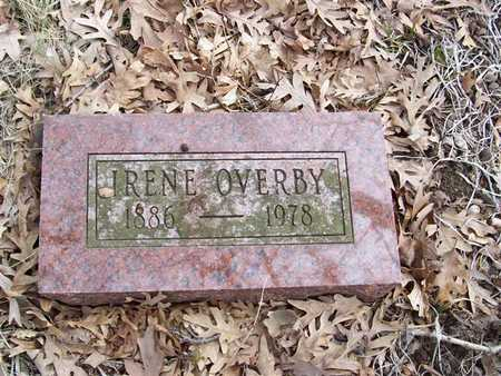 OVERBY, IRENE - Boone County, Iowa | IRENE OVERBY