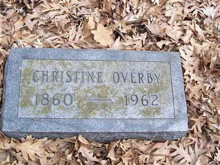 OVERBY, CHRISTINE - Boone County, Iowa | CHRISTINE OVERBY