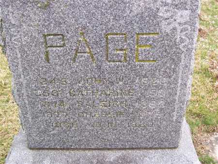 PAGE, RALEIGH - Boone County, Iowa | RALEIGH PAGE