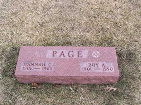 PAGE, ROY A. - Boone County, Iowa | ROY A. PAGE