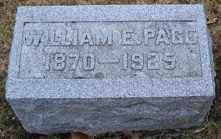 PAGE, WILLIAM E. - Boone County, Iowa | WILLIAM E. PAGE