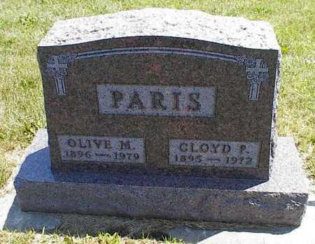 PARIS, CLOYD P. - Boone County, Iowa | CLOYD P. PARIS