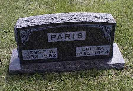 PARIS, LOUISA - Boone County, Iowa   LOUISA PARIS