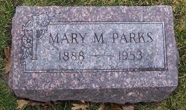 PARKS, MARY M. - Boone County, Iowa | MARY M. PARKS