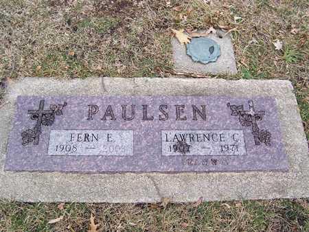 PAULSON, LAWRENCE C. - Boone County, Iowa   LAWRENCE C. PAULSON