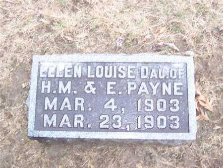 PAYNE, ELLEN LOUISE - Boone County, Iowa | ELLEN LOUISE PAYNE