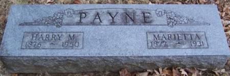 PAYNE, MARIETTA - Boone County, Iowa | MARIETTA PAYNE