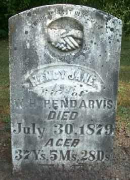 PENDARVIS, NANCY JANE - Boone County, Iowa | NANCY JANE PENDARVIS