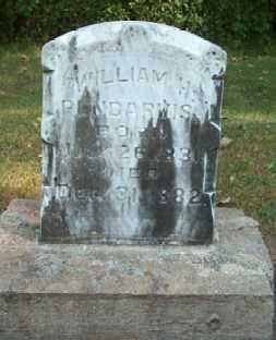 PENDARVIS, WILLIAM H. - Boone County, Iowa   WILLIAM H. PENDARVIS