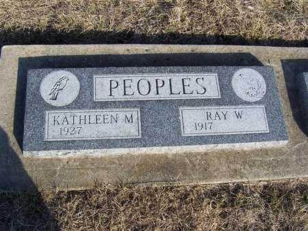 PEOPLES, KATHLEEN M. - Boone County, Iowa | KATHLEEN M. PEOPLES