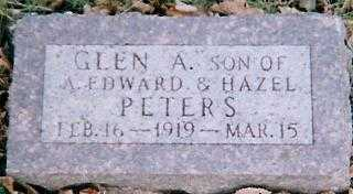PETERS, GLEN A. - Boone County, Iowa | GLEN A. PETERS