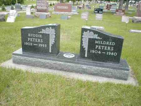 PETERS, MILDRED - Boone County, Iowa | MILDRED PETERS