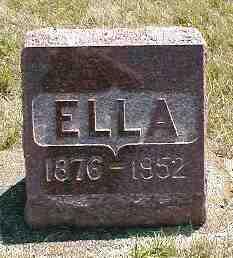 PETERSON, ELLA - Boone County, Iowa | ELLA PETERSON