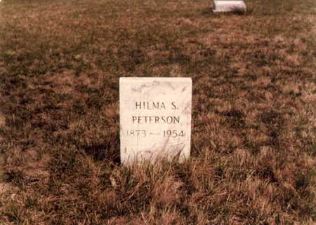 PETERSON, HILMA SOPHIA - Boone County, Iowa | HILMA SOPHIA PETERSON