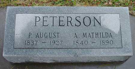 PETERSON, A. MATHILDA - Boone County, Iowa | A. MATHILDA PETERSON