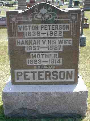 PETERSON, MOTHER - Boone County, Iowa | MOTHER PETERSON