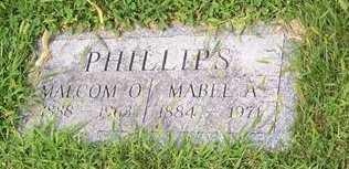 PHILLIPS, MALCOM O. - Boone County, Iowa   MALCOM O. PHILLIPS