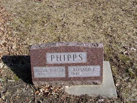 PHIPPS, BESSIE BARGER - Boone County, Iowa | BESSIE BARGER PHIPPS