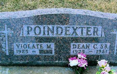POINDEXTER, VIOLATE M. - Boone County, Iowa   VIOLATE M. POINDEXTER