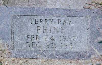 PRINE, TERRY RAY - Boone County, Iowa   TERRY RAY PRINE