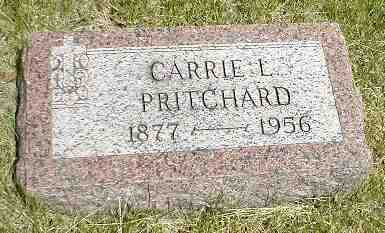PRITCHARD, CARRIE L. - Boone County, Iowa   CARRIE L. PRITCHARD