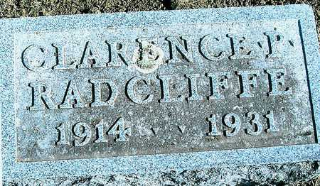 RADCLIFFE, CLARENCE P. - Boone County, Iowa | CLARENCE P. RADCLIFFE