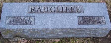 RADCLIFFE, MABEL A. - Boone County, Iowa | MABEL A. RADCLIFFE