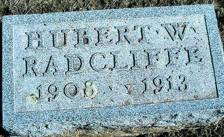 RADCLIFFE, HUBERT W. - Boone County, Iowa   HUBERT W. RADCLIFFE