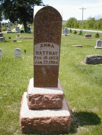 RATTRAY, ANNA - Boone County, Iowa   ANNA RATTRAY