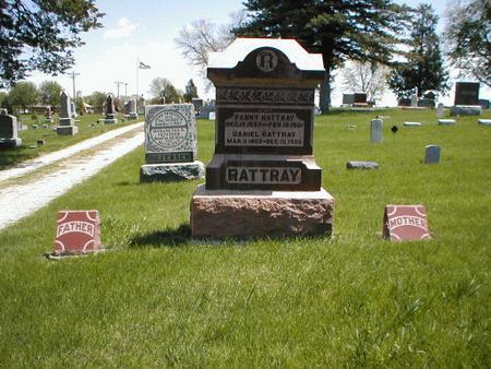 RATTRAY, FANNY - Boone County, Iowa | FANNY RATTRAY