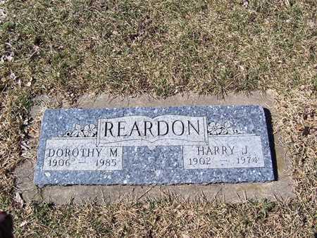 REARDON, HARRY J - Boone County, Iowa   HARRY J REARDON