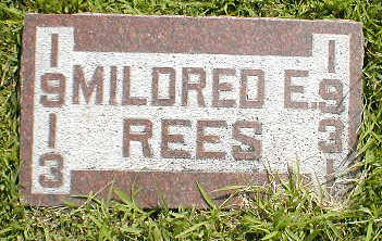 REES, MILDRED - Boone County, Iowa | MILDRED REES