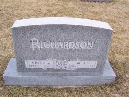 RICHARDSON, ARED C. - Boone County, Iowa | ARED C. RICHARDSON
