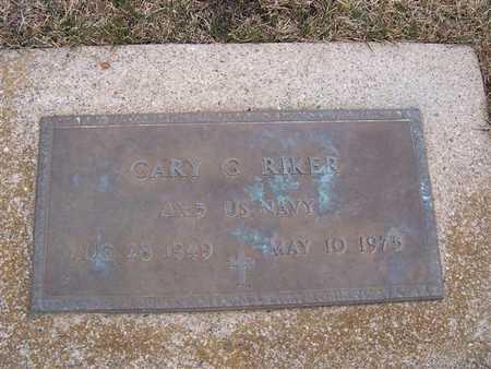 RIKER, GARY G - Boone County, Iowa | GARY G RIKER