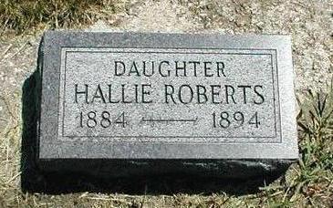 ROBERTS, HALLIE - Boone County, Iowa | HALLIE ROBERTS
