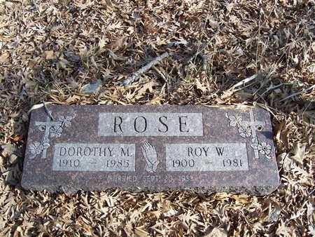 ROSE, DOROTHY M. - Boone County, Iowa | DOROTHY M. ROSE