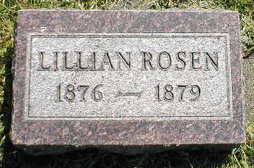 ROSEN, LILLIAN - Boone County, Iowa | LILLIAN ROSEN