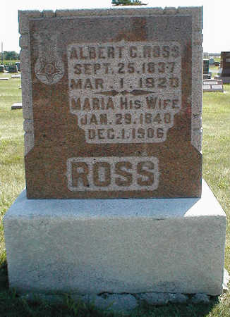 ROSS, MARIA - Boone County, Iowa | MARIA ROSS
