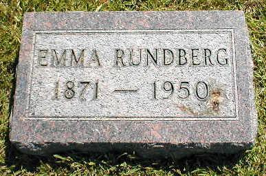 RUNDBERG, EMMA - Boone County, Iowa | EMMA RUNDBERG