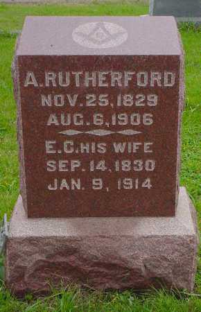 RUTHERFORD, A. - Boone County, Iowa | A. RUTHERFORD