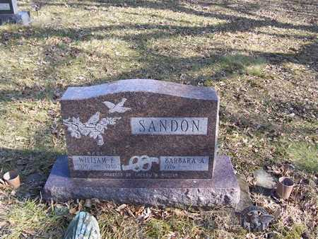 SANDON, BARBARA A. - Boone County, Iowa   BARBARA A. SANDON