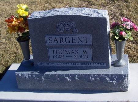 SARGENT, THOMAS W. - Boone County, Iowa | THOMAS W. SARGENT