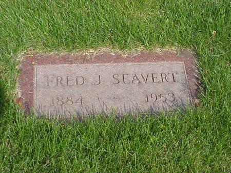 SEAVERT, FRED - Boone County, Iowa | FRED SEAVERT