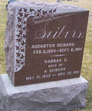 SEIBERS, AUGUSTUS - Boone County, Iowa | AUGUSTUS SEIBERS