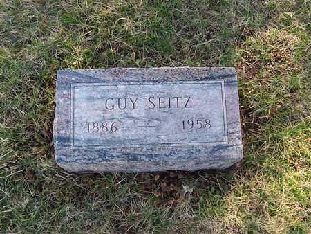 SEITZ, GUY - Boone County, Iowa | GUY SEITZ