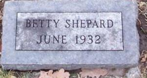 SHEPARD, BETTY - Boone County, Iowa | BETTY SHEPARD