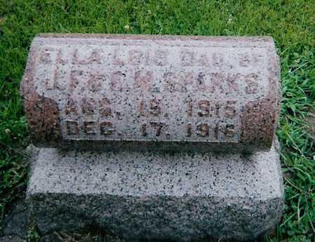 SPARKS, ELLA LOIS - Boone County, Iowa | ELLA LOIS SPARKS