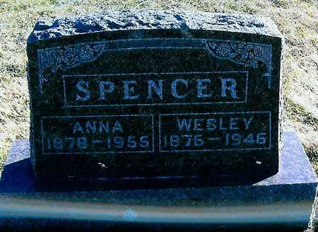 SPENCER, ANNA - Boone County, Iowa | ANNA SPENCER